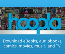 Hoopla Download eBooks, audiobooks, movies, and music