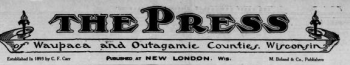 Old New London Newspaper